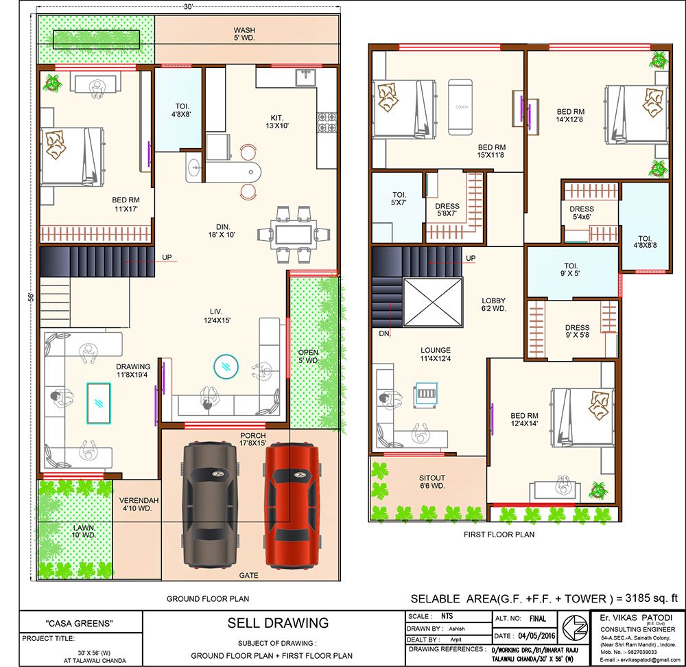Casa green for Plot plan for my house online