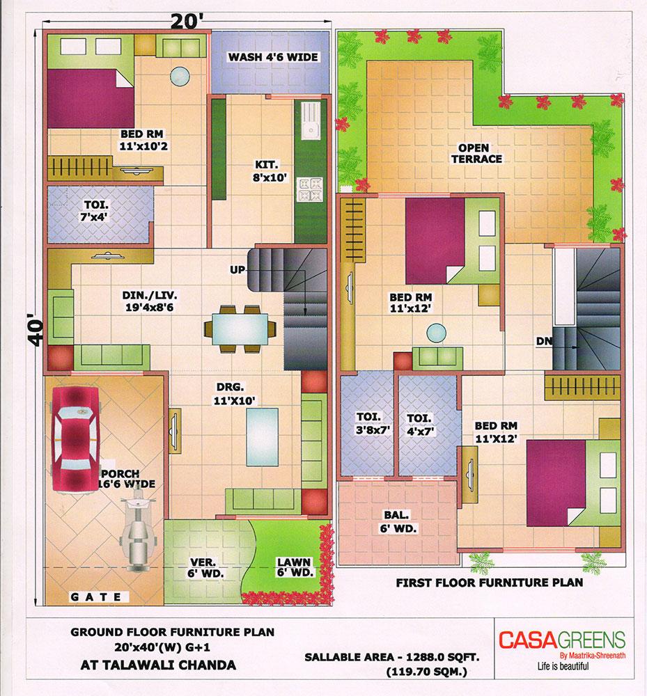 60x40 floor plans www indiajoin com 700 596 house plans